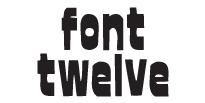 font twelve