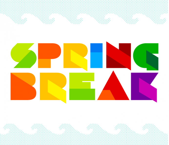 Spring Break Vector